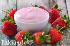 Клубничный йогурт, отдушка Франция