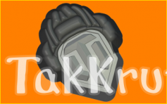 Логотип WOT, пластиковая форма