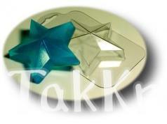 Звезда, пластиковая форма