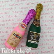 Бутылочка шампанского (TakKruto), силиконовая форма