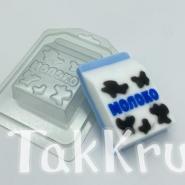 Молоко - коробка, пластиковая форма