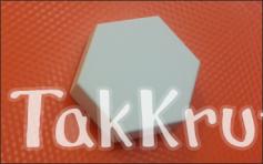 Шестигранник, пластиковая форма