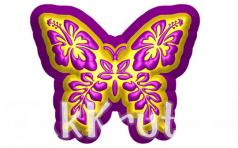 Бабочка ажурная, пластиковая форма