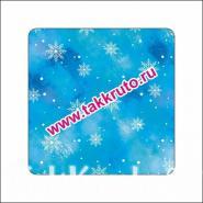 """Подложка в квадратный купол """"Первый снег"""", 10 шт."""