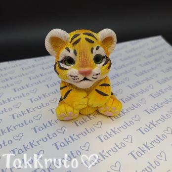 Тигр Серёжа (TakKruto), силиконовая форма