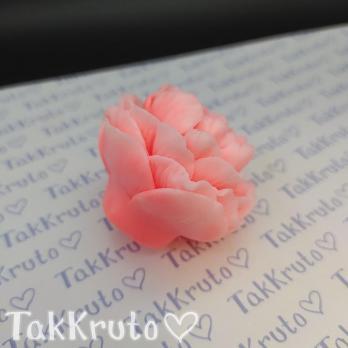 Пион Рэд 3 (TakKruto), силиконовая форма