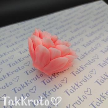 Георгин Триумф 2 (TakKruto), силиконовая форма