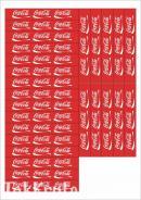 """Наклейки """"Кока-кола"""""""